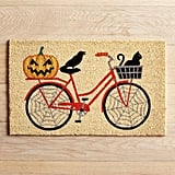 Bicycle Pumpkin Doormat