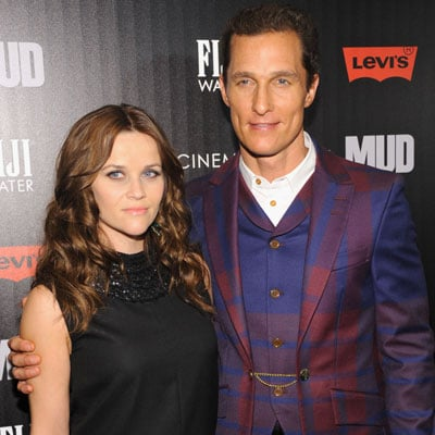 Reese Witherspoon and Matthew McConaughey at Mud premiere
