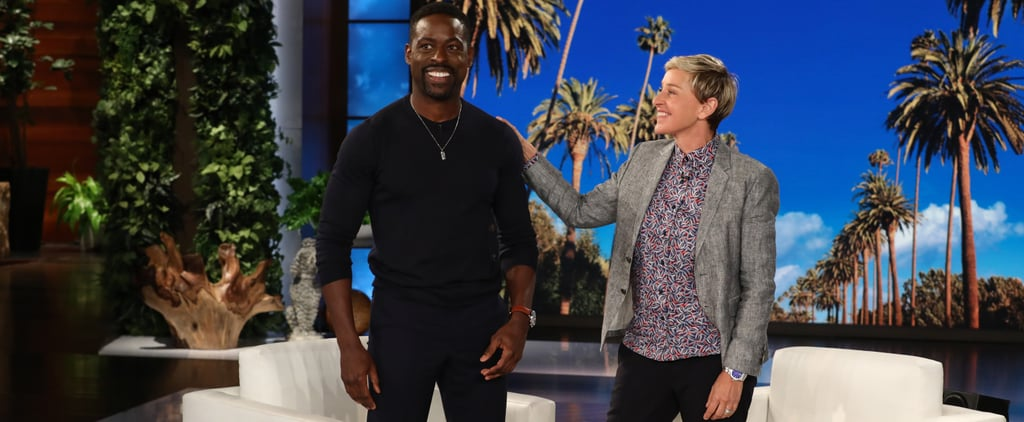 Sterling K. Brown on The Ellen DeGeneres Show May 2018