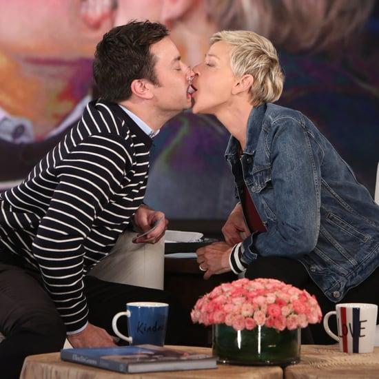 Jimmy Fallon Playing Speak Out on Ellen DeGeneres Show 2017