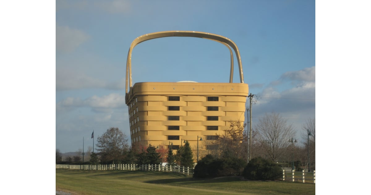 Longaberger Basket Building | Unreal Travel Destinations In America |  POPSUGAR Smart Living Photo 6