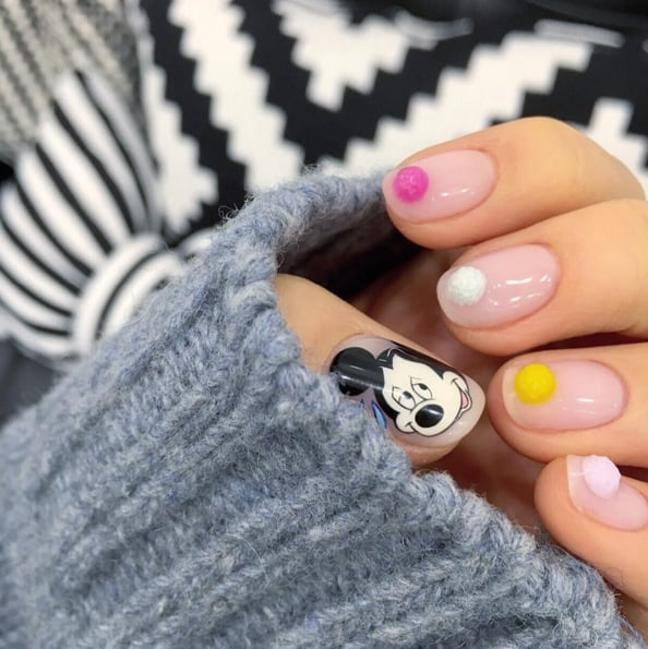 The Pom-Pom Nail Art Trend Will Give You a Warm and Fuzzy Feeling
