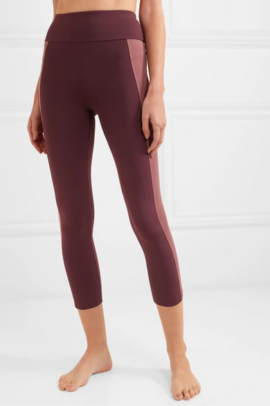 Ernest Leoty Therese Two-Tone Stretch Leggings