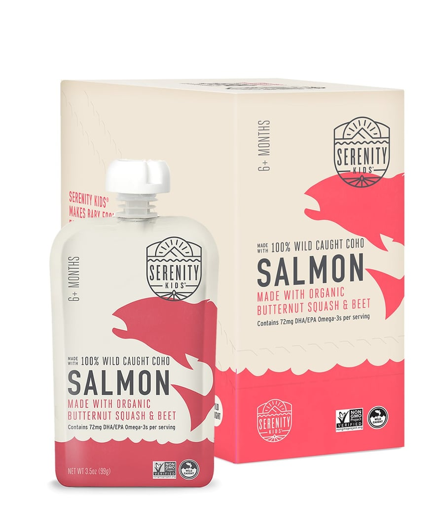 Serenity Kids Wild Caught Coho Salmon Pouches