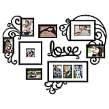 "This is perfect if you want a to add a touch of DIY. Pick photos from your childhood and your mom will love it.  Wallverbs 7-Piece ""Love"" Photo Frame Set ($50)"
