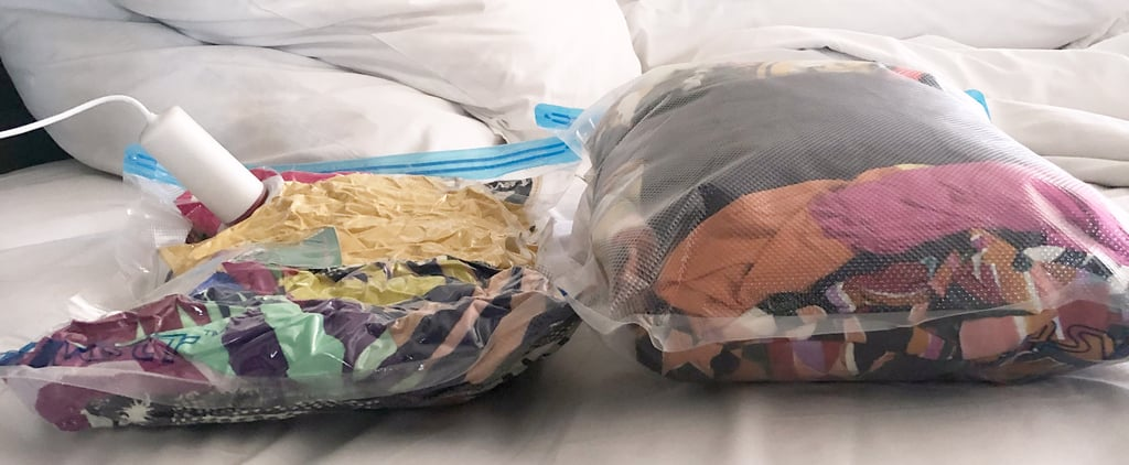 USB Electric Pump and 8 Vacuum Travel Bags Set Review