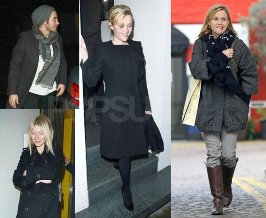 Photos of Jake Gyllenhaal, Reese Witherspoon, Gwyneth Paltrow Celebrating Thanksgiving in London