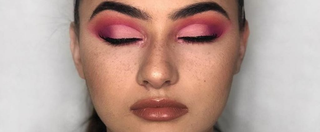 How to Wear Cherry Eye Shadow
