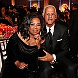 Pictured: Oprah Winfrey and Stedman Graham