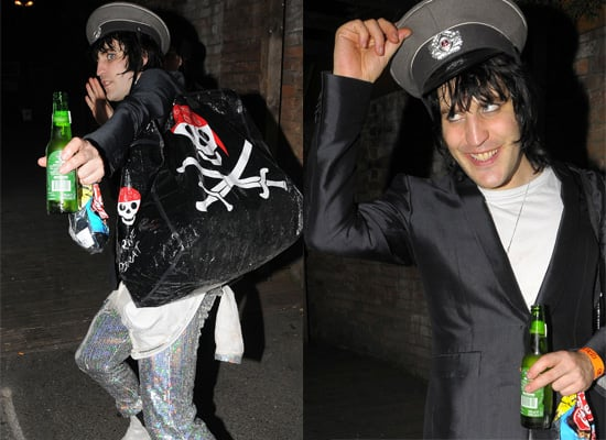 "Photos Of Noel Fielding In London, He And The Mighty Boosh Stars Have Signed On For Movie ""Bunny And The Bull"""