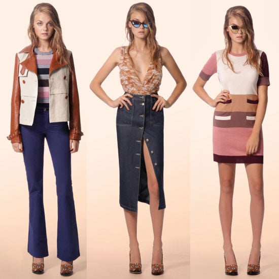 First Look at Bettina Liano's New Autumn Winter 2012 Collection: Coloured Denim, Flares and Lots of Retro Flavour