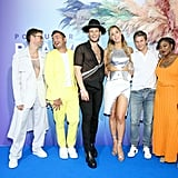 Brad Goreski, Anthony Ramos, Nico Tortorella, Carmen Carrera, David Burtka, and Alicia Garza