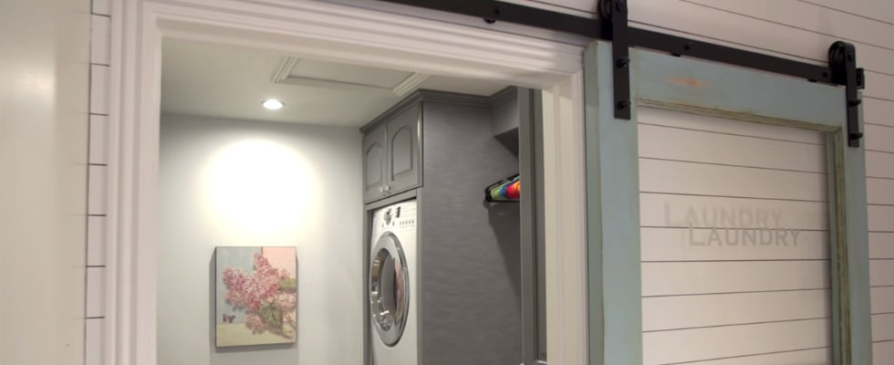 How a Mum of 6 Created the Most Efficient Laundry Room Ever