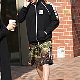Channing Tatum Limps Around LA With a Friend
