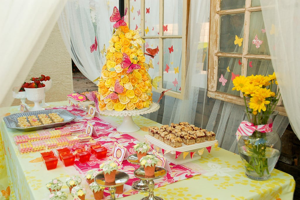 Butterfly Garden Birthday Party Butterfly Garden Birthday