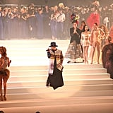 Boy George Performing on the Jean Paul Gaultier Runway