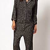We realize that this ASOS tweed jumpsuit ($121) isn't for everyone, but if you can pull it off, it would be a unique addition to your closet. Add a pop of color via cobalt pumps and bright pink lips.