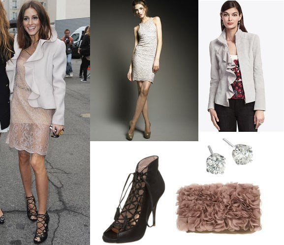 Pictures of Olivia Palermo at Valentino 2011 Spring Show
