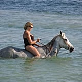 Ride a Horse in the Ocean