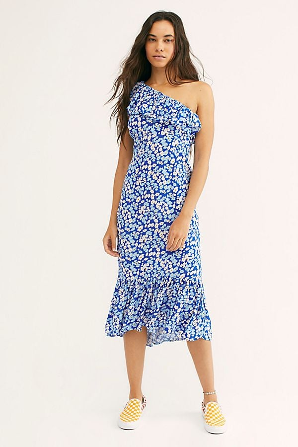 Rue Stiic Westcott One-Shoulder Dress