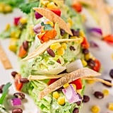 Mexican Wedge Salad With Creamy Avocado Cilantro Dressing
