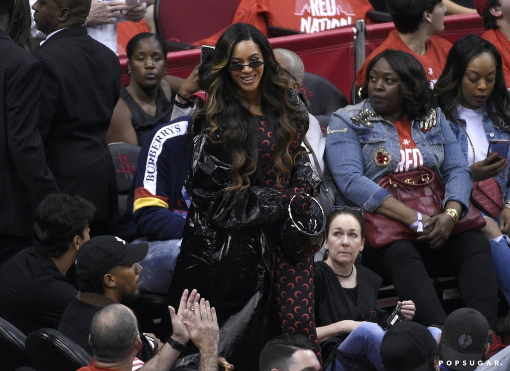 Beyoncé and JAY Z at Houston Rockets Game Pictures May 2019