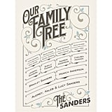 Minted Our Vintage Family Print ($125-$200)
