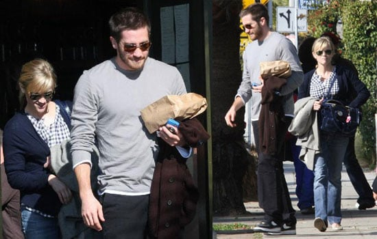 Reese and Jake Grab Breakfast in LA