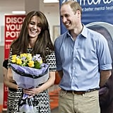 When Will and Kate's Smiles Were This Big at an Official Appearance