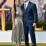 Shay Shariatzadeh and John Cena  at the Dolittle Premiere in LA