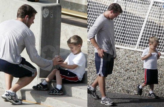 Ryan and Deacon's Amazingly Adorable Athletic Afternoon