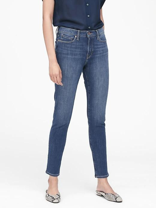 Mid-Rise Skinny Zero Gravity Jeans