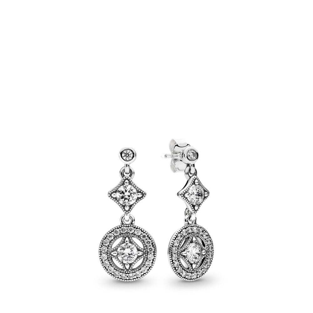 Pandora Vintage Allure Drop Earrings
