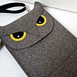 Owl Felt Laptop Bag ($87)