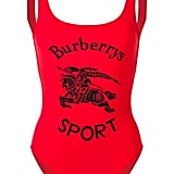 Burberry Archive Logo print swimsuit