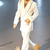 Taking the stage at the People's Choice Awards in 2005.