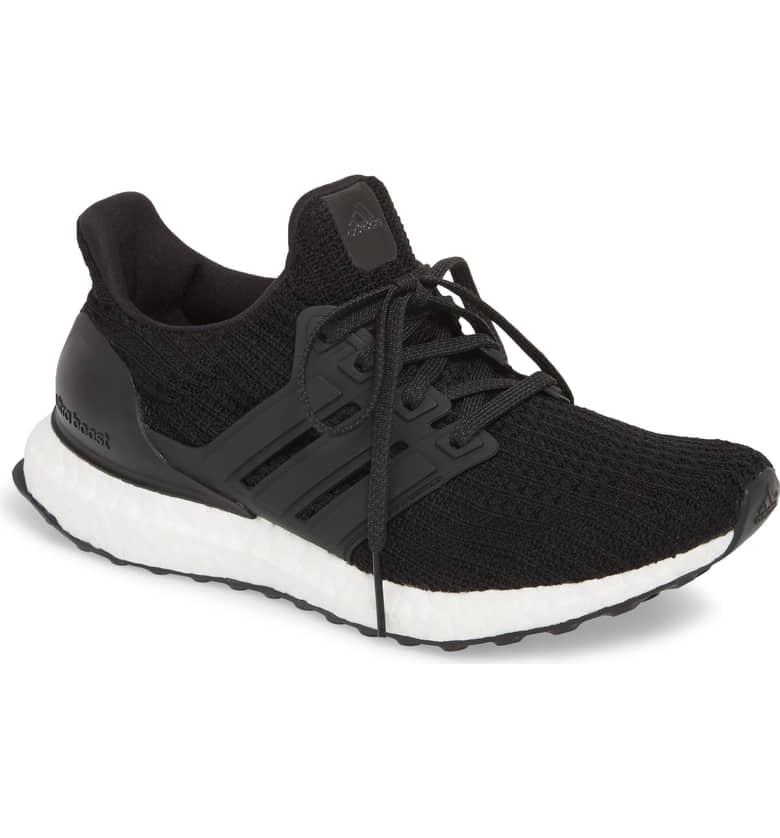 Adidas UltraBoost Running Shoe | Best Black Sneakers For