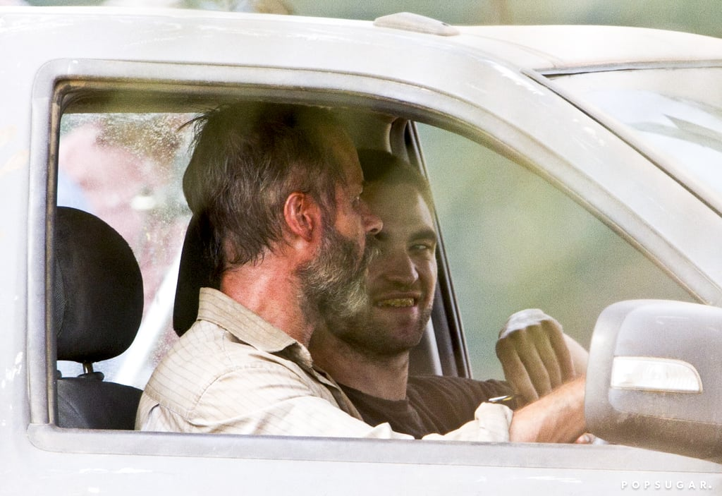 Robert Pattinson wore fake yellow teeth on the set of The Rover.