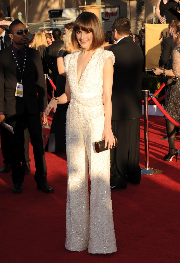 Rose Byrne Skips a Gown For a Gorgeous Jumpsuit at the SAG Awards