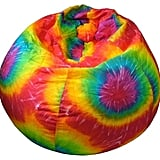 Rainbow Tie-Dye Bean Bag Chair