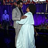 Diddy and Jenifer Lewis