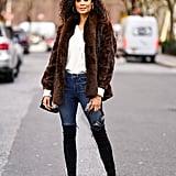 Spring 2020 Hairstyle Trend: Deep Part, Bouncy Curls