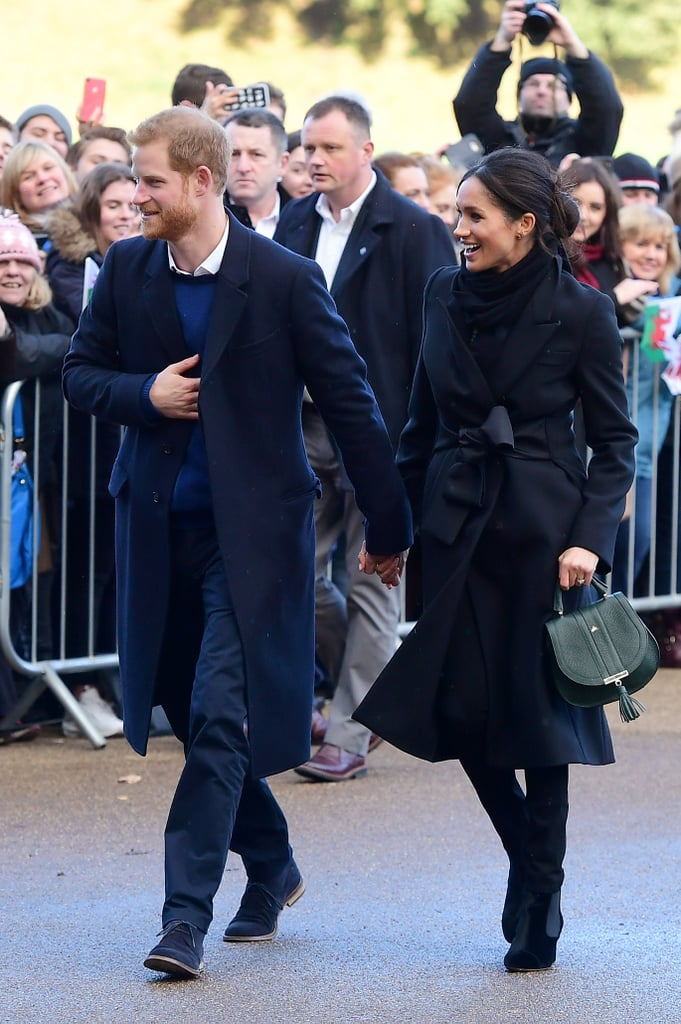 Meghan Markle's Jet Black Outfit Definitely Wasn't Approved by the Queen