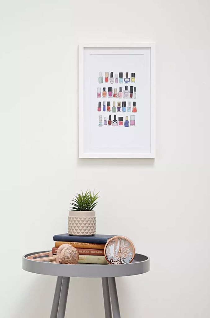 Forever 21 Nail Polish Wall Decor