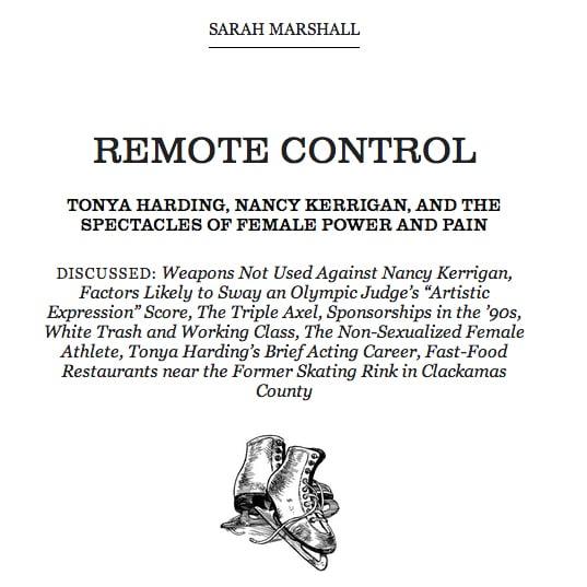 "Read ""Remote Control"" in Believer"