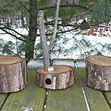 Even major urbanites can appreciate the unique, outdoorsy charm of these iPhone dock wood log speakers ($225) from Etsy seller PruittsPlace. Crafted from a tree that fell in the seller's yard, the detached speakers and dock are housed in their own log measuring five inches in diameter.