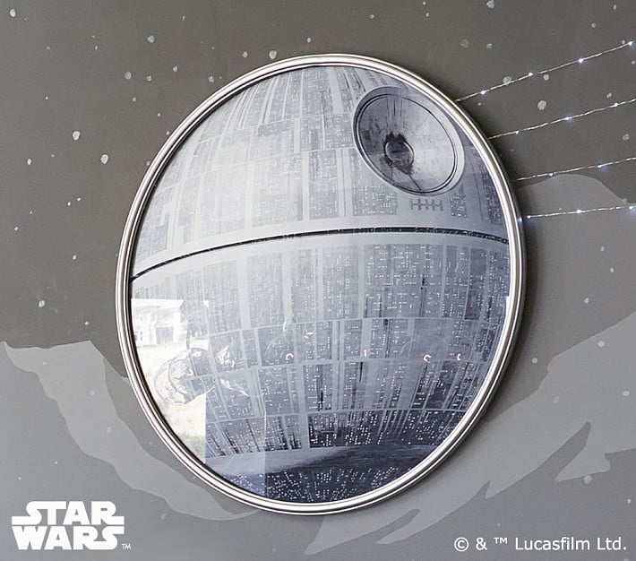 Star Wars Death Star Wall Art