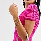 ASOS Cuff Bracelet in Cage Design