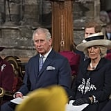 March: They Made Their First Official Appearance With Queen Elizabeth II