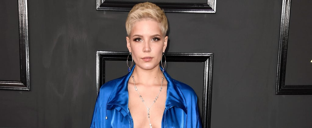Halsey Wore One of the Sexiest Looks of the Night — and It Wasn't a Dress